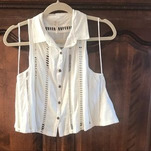Free People Top Adorable! Like New, Never Worn!!